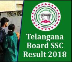 TS Board Result 2018