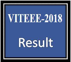 VITEEE Result 2018