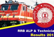 rrb alp, technicion result