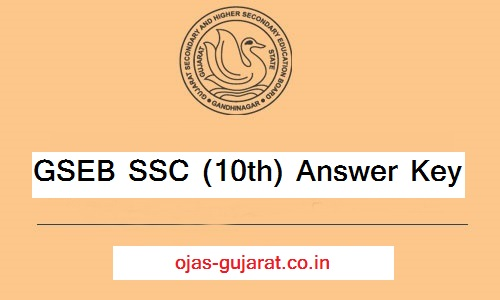gseb ssc 10th answer key