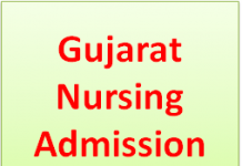 gujarat nursing admission