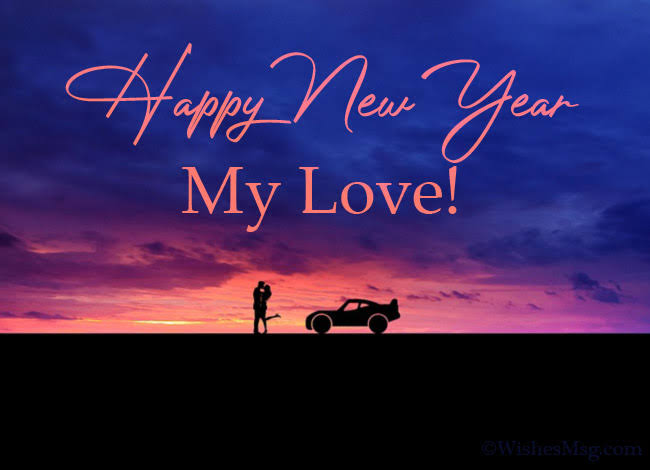 happy new year image for lover