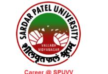 Sardar Patel University Recruitment