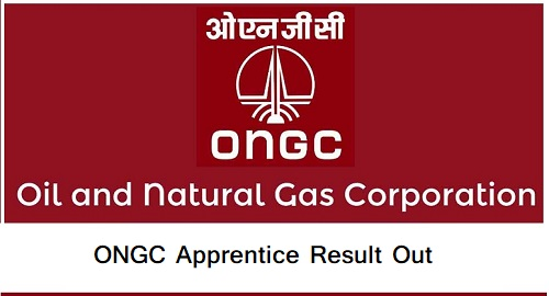 ONGC Apprentice Result
