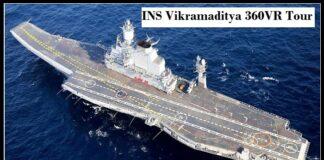 INS Vikramaditya Video
