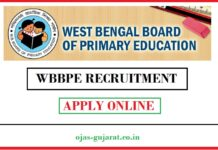 WBBPE Recruitment